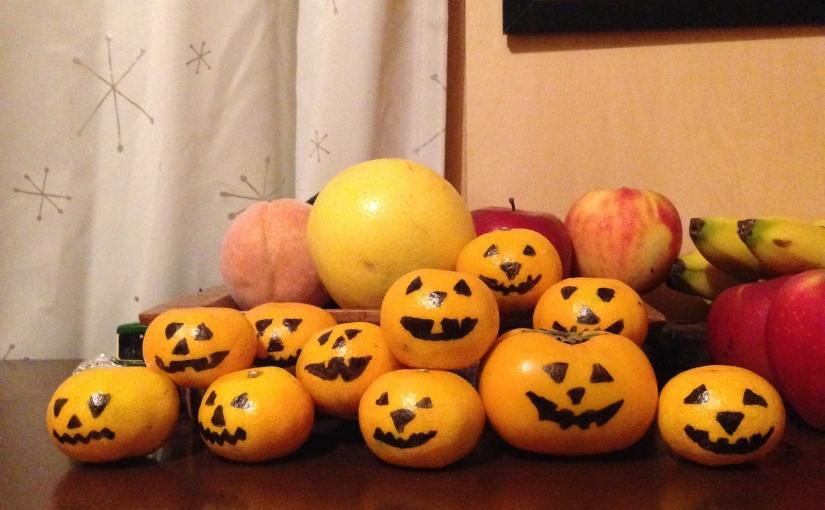 """Halloween """"Pumpkin"""" Oranges"""